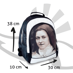 Mochila Santa Teresinha do Menino Jesus - Unissex