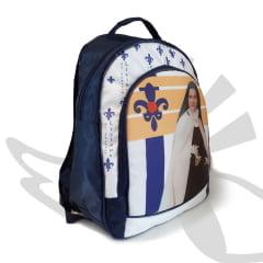 Mochila Santa Teresinha Do Menino Jesus Azul