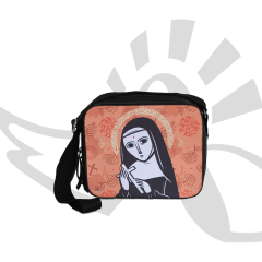 Bolsa Transversal / Porta-Bíblia - Santa Rita de Cássia