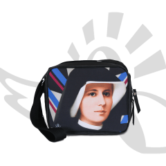 Bolsa Transversal / Porta-Bíblia - Santa Faustina