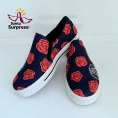 Slip On Estampado Santa Teresinha do Menino Jesus